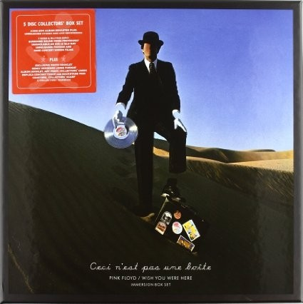 Pink Floyd - Wish you were here (Ceci n´est pas une boîte) - Immersion - Box Set 2 CD + 2 DVD + Bluray