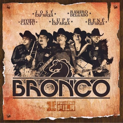 Bronco - Primera Fila - CD + DVD