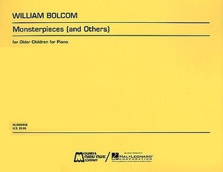 William Bolcom - Monsterpieces ( and Others ) - Partituras
