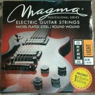 Cuerdas para guitarra eléctrica - Magma - GE140N - Nickel Plate Steel - 010 Light
