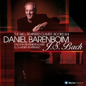 Daniel Barenboim - Bach - The Well Tempered Books I & II (5 CDs)