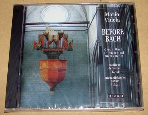 Mario Videla - Before Bach - CD