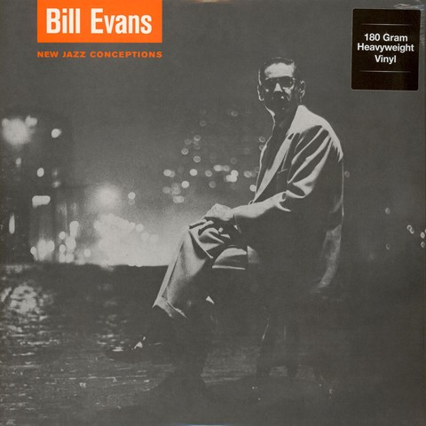 Bill Evans - New Jazz Conceptions - Vinilo