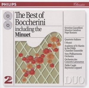 The Best of Boccherini - P. Casals / S. Gazzelloni / M. Gendron / Pepe Romero ( 2 CDs )