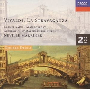 Vivaldi - La Stravaganza - Carmel Kaine / Alan Loveday / Neville Marriner ( 2 CDs )