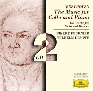 The Music for Cello and Piano - Beethoven - Pierre Fournier / Wilhelm Kempff ( 2 CDs )