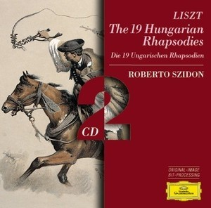 Liszt - The 19 Hungarian Rhapsodies - Roberto Szidon ( 2 CDs )