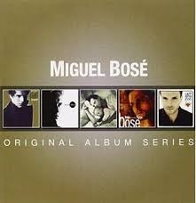 Miguel Bosé - Original Álbum Series - Box Set 5 CD