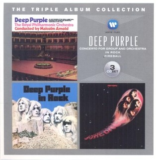 Deep Purple - The Triple Album Collection  (Boxset 3 CDs)