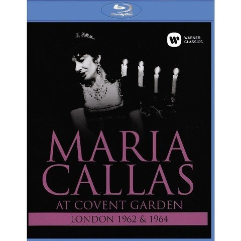 Maria Callas - At covent garden (London 1962 & 1964) - DVD BLu-Ray