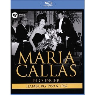 Maria Callas - In concert (Hamburg 1959 & 1962) - DVD Blu-Ray