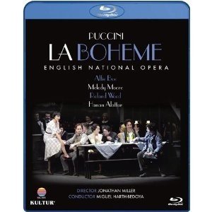 La Boheme - Puccini - Alfie Boe / Melody Moore / English National Opera / Jonathan Miller (Bluray)