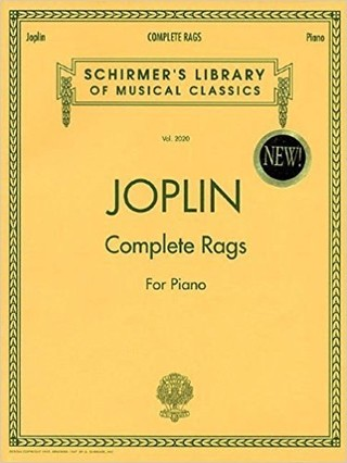 Joplin – Complete Rags for Piano - ( Libro de partituras )