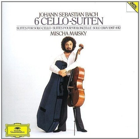 Mischa Maisky - Bach - 6 Cello-Suiten ( 2 CDs )