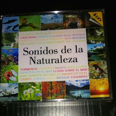 Sonidos de la Naturaleza - (Box set 4 CDs)