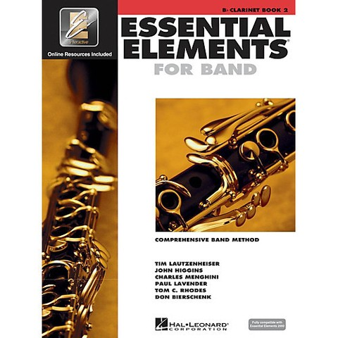 Essential Elements for Band - Clarinet - Book 2 - Interactive - Libro