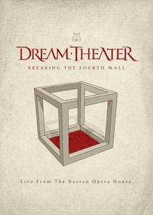 Dream Theater - Breaking the Fourth Wall - Live From The Boston Opera House - 2 DVD
