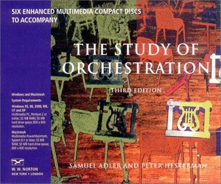 Samuel Adler & Peter hesterman - The Study of Orchestration  ( Boxset 6 CDs - Multimedia )