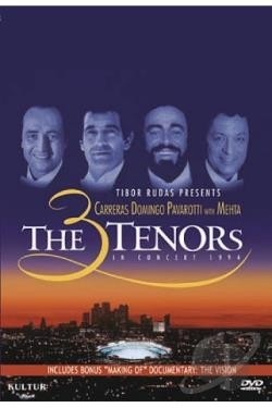 Carreras / Domingo / Pavarotti - The 3 Tenors in Concert 1994 - DVD
