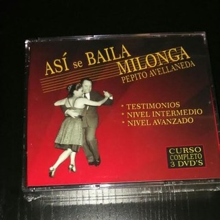 Así se baila Milonga - Pepito Avellaneda (Box set 3 CDs)