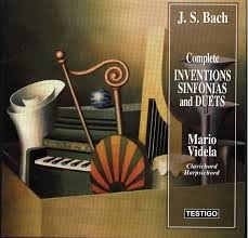 Mario Videla - Bach: Complete Inventions Sinfonias and Duets - CD