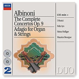 Albinoni - The Complete Concertos Op.9 - I Musici / Ayo / Holliger / Bourge ( 2 CDs )