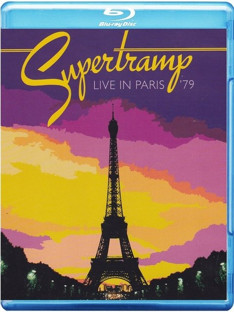 Supertramp - Live in Paris ´79 - Bluray Importado