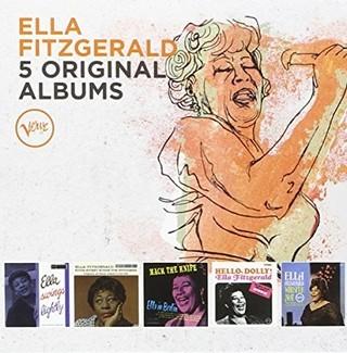 Ella Fitzgerald - 5 Original Albums - ( Boxset 5 CDs )