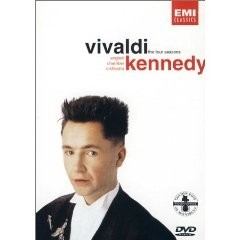 The four seasons - Vivaldi - Nigel Kennedy - English Chamber Orchestra - DVD