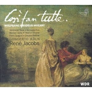 René Jacobs - Mozart - Così fan tutte (Box set 3 CDs + 1 CD Rom)