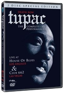 Tupac: Death Row - The complete Live Performances - 2 DVD