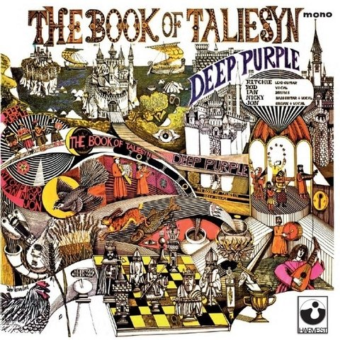 Deep Purple - The Book of Taliesyn (mono) - Vinilo
