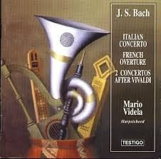 Mario Videla - Bach - Italian Concerto / French Overture / 2 Concertos After Vivaldi - CD
