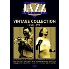 Jazz Masters - Vintage Collection 1958-1961 - DVD
