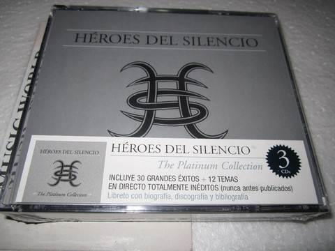 Héroes del silencio - The Platinum Collection  (3 CDs)