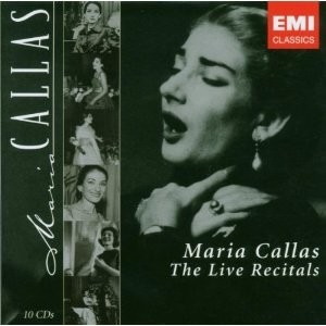 Maria Callas - The Live Recitals (Box set 10 CDs) - comprar online