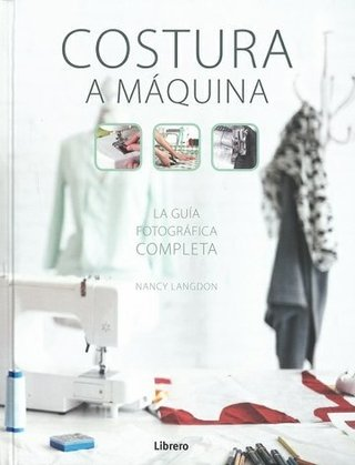 Costura a máquina - Nancy Langdon - Libro