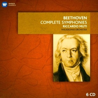Beethoven - Complete Symphonies: Philadelphia Orchestra / Riccardo Muti  (Boxset 6 CDs)