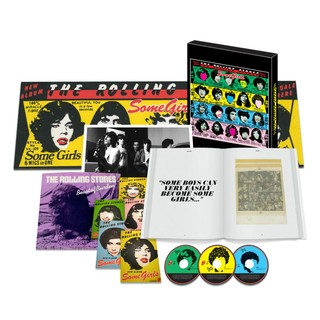 The Rolling Stones Some Girls - Super Deluxe Edition Box Set on Limited Edition ( 2CD + DVD + 7