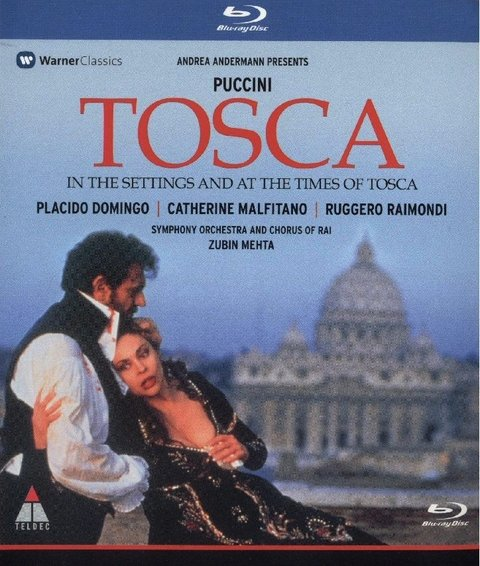 Tosca - Giacomo Puccini - Placido Domingo - Bluray