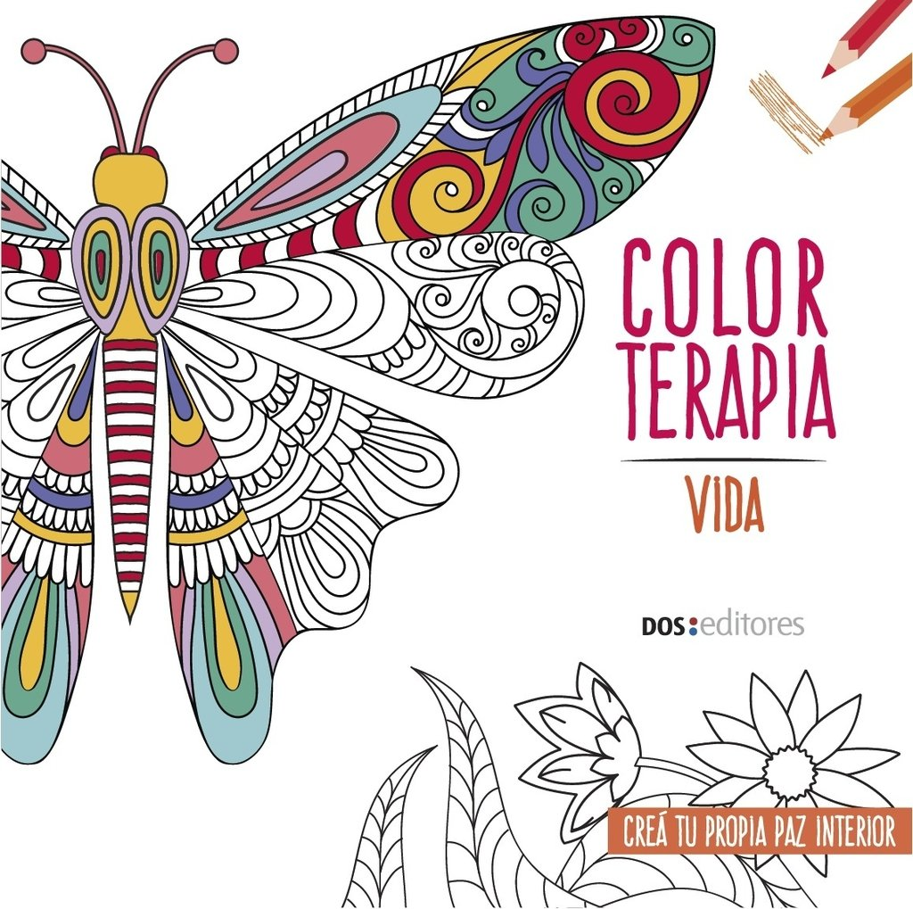 Color terapia - Vida - Zen - Mandalas ( 3 Libros ) (para colorear)