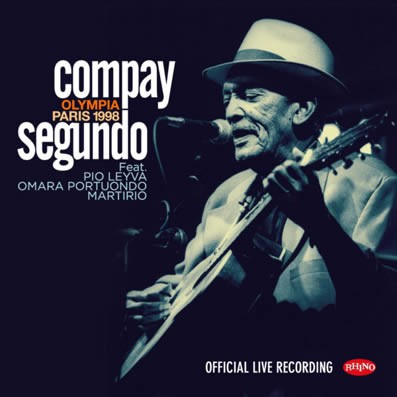 Compay Segundo - en vivo Olympia Paris 1998 ( CD + DVD )