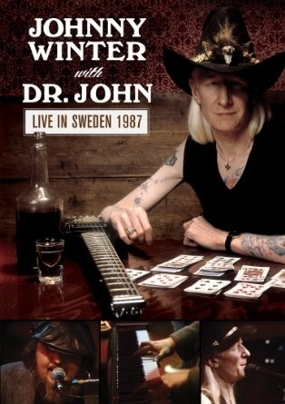 Johnny Winter with Dr. John - Live in Sweden 1987 - DVD