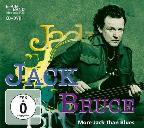 Jack Bruce / HB Bigband - More Jack Than Blues ( CD+DVD )