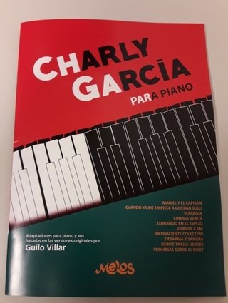 Charly García para piano ( Libro de partituras )