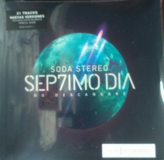 Soda Stereo - Sep7imo día - No descansaré - CD