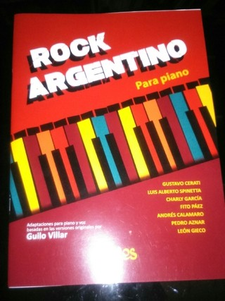 Rock argentino para piano - Partituras