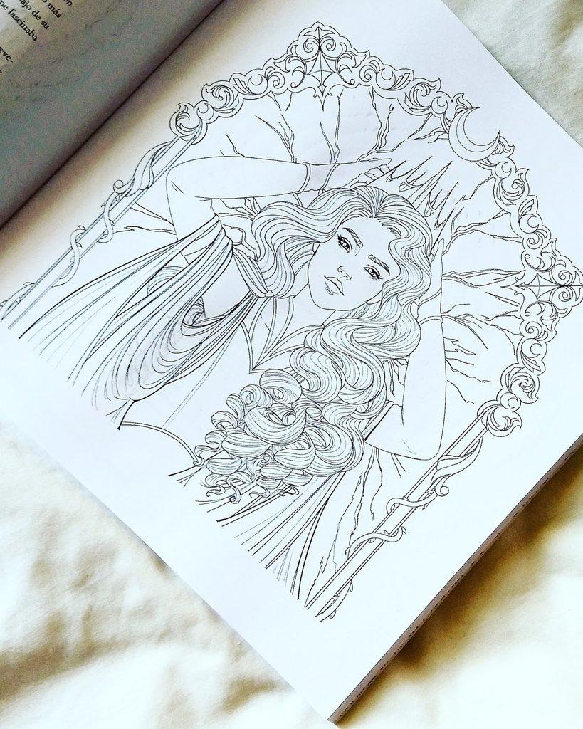 Crónicas lunares. Libro para colorear - Marissa Meyer - Libro