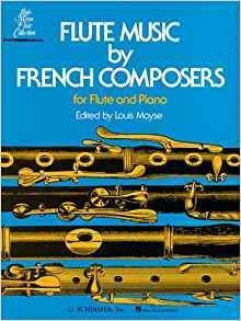 Flute Music by French Composers for Flute and Piano ( Libro de Partituras )