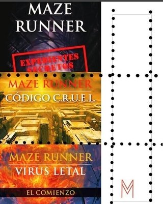 Pack - Maze Runner: Virus letal + Expedientes secretos + Código C.R.U.E.L. - ( 3 libros)